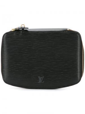 Клатч Poche Montecarlo Louis Vuitton Vintage. Цвет: чёрный