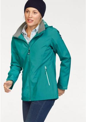 Куртка POLARINO. Цвет: бирюзовый
