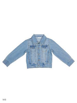 Куртка NAME IT. Цвет: светло-голубой
