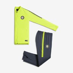 Футбольный костюм для школьников Inter Milan Dri-FIT Squad Nike. Цвет: желтый
