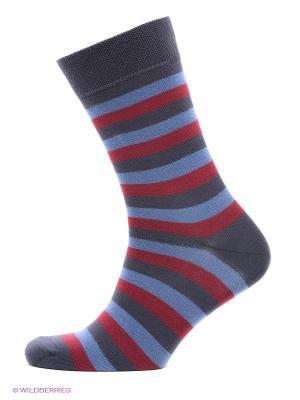 Носки, 2 пары БРЕСТСКИЕ. Цвет: синий, темно-серый