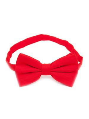 Галстук-бабочка Churchill accessories. Цвет: красный