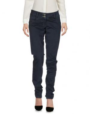 Повседневные брюки SHOCKLY. Цвет: темно-синий