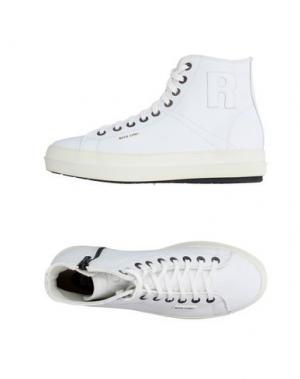 Высокие кеды и кроссовки RUCO LINE. Цвет: белый