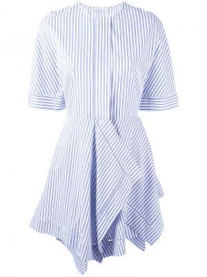 Расклешенное платье J.W.Anderson. Цвет: белый