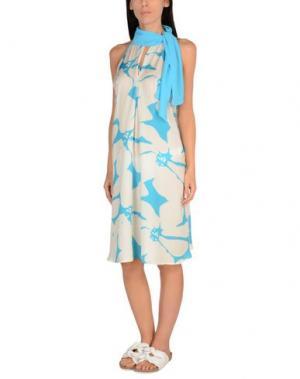Пляжное платье TWIN-SET Simona Barbieri. Цвет: небесно-голубой