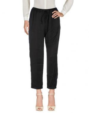 Повседневные брюки CLU. Цвет: черный