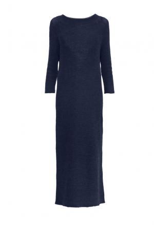 Платье из шерсти 153300 Norsoyan. Цвет: синий