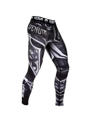 Компрессионные тайтсы Venum Gladiator 3.0 Black/White. Цвет: черный, белый