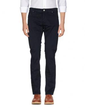 Повседневные брюки MICHAEL COAL. Цвет: темно-синий