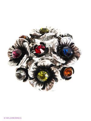 Кольцо AVGAD. Цвет: серебристый
