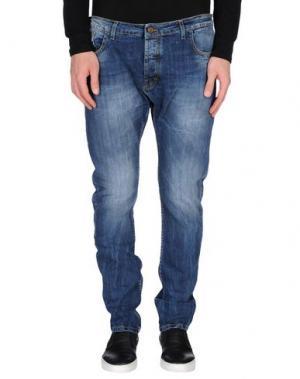 Джинсовые брюки ALFONSO RAY. Цвет: синий