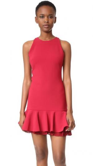 Платье Josephine Cushnie Et Ochs. Цвет: рубиновый