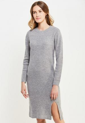 Платье Rodier. Цвет: серый
