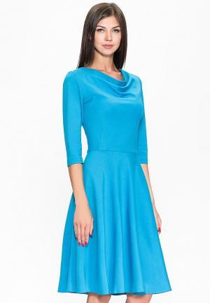 Платье Stella Di Mare. Цвет: голубой