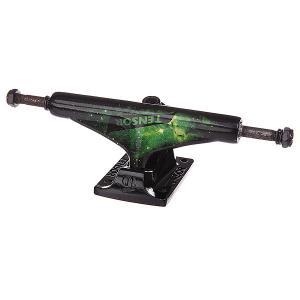 Подвеска для скейтборда 1шт.  Alum Reg Tens Colored Cosmic Green 5.5 (21 см) Tensor. Цвет: черный,зеленый