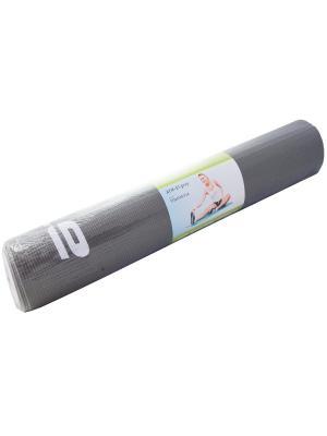 Коврик для йоги (серый). Atemi. Цвет: серый