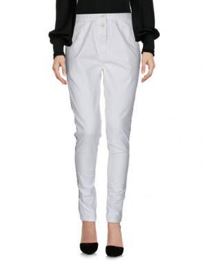 Повседневные брюки LAURENCE DOLIGÉ. Цвет: белый