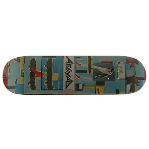 Дека для скейтборда  Paint 1 Multi 32.25 x 8.5 (21.6 см) Absurd. Цвет: мультиколор