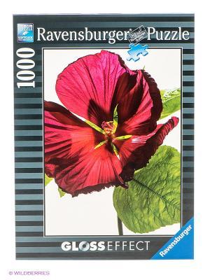 Паззл Цветок гибискуса, 1000 шт Ravensburger. Цвет: серый