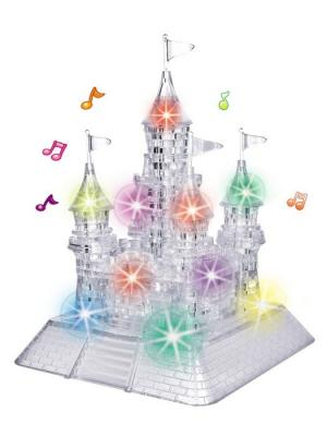 Crystal Puzzle 3D Замок XL Светильник Склад Уникальных Товаров. Цвет: прозрачный