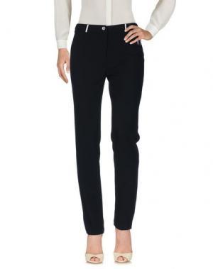 Повседневные брюки ELISA FANTI. Цвет: черный