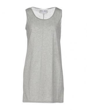 Короткое платье BRAND UNIQUE. Цвет: серый