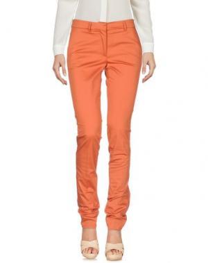 Повседневные брюки ANNIE P.. Цвет: ржаво-коричневый