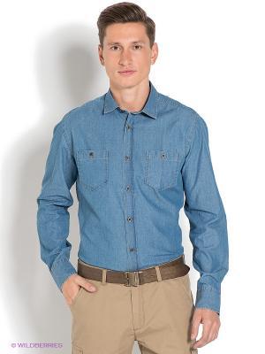 Рубашка Ruck&Maul. Цвет: синий