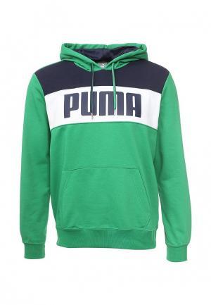Худи Puma. Цвет: зеленый