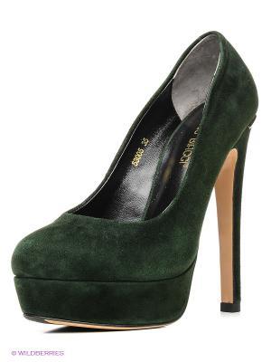 Туфли Antonio Biaggi. Цвет: темно-зеленый