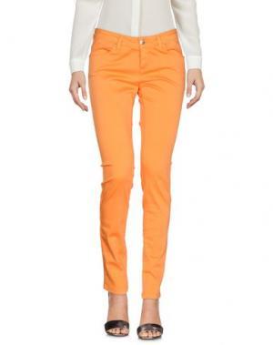 Повседневные брюки FLY GIRL. Цвет: оранжевый