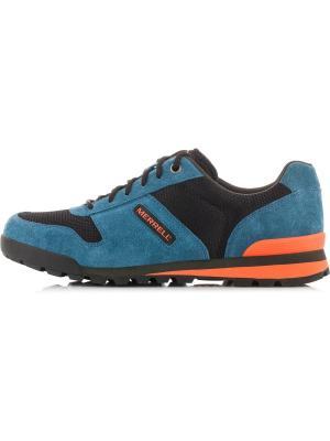 Кроссовки MERRELL. Цвет: синий, оранжевый, черный