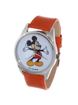 Часы Mitya Veselkov Микки (рыжий) Арт. Color-33. Цвет: терракотовый
