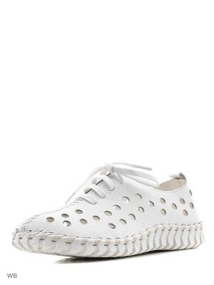 Туфли Baden. Цвет: белый