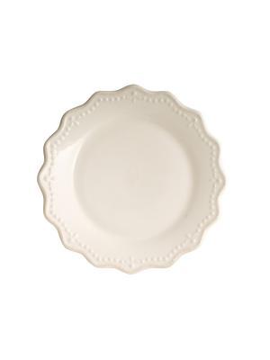 Тарелка - 6 шт. H&H. Цвет: белый
