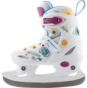 Ледовые коньки раздвижные для девочек  Julia Nordway