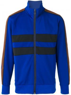 Спортивная куртка на молнии Ps By Paul Smith. Цвет: синий