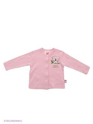 Кофточка Baby Club. Цвет: бледно-розовый