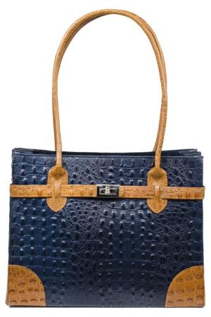 Bag APOSTROPHE. Цвет: blue and brown