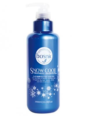 Шампунь SNOW COOL 1000 ml Bosnic. Цвет: синий