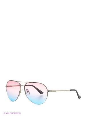 Солнцезащитные очки Vittorio Richi. Цвет: розовый, голубой