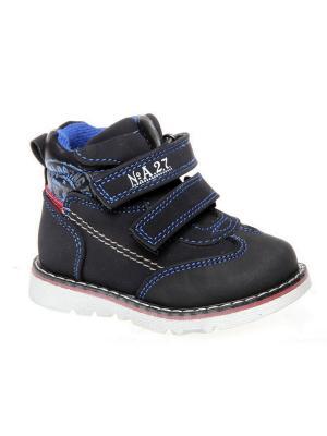 Ботинки Сказка. Цвет: темно-синий
