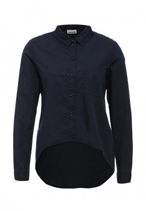 Рубашка Noisy May. Цвет: синий