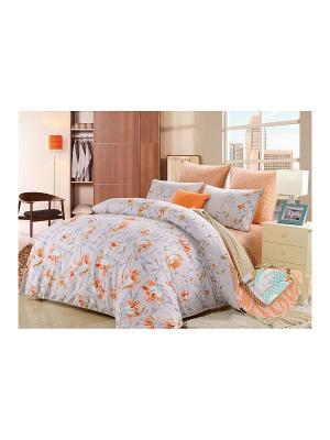 Комплект постельного белья, Ивонна, 1.5 спальный KAZANOV.A.. Цвет: серый