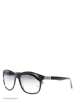 Солнцезащитные очки Montblanc. Цвет: черный