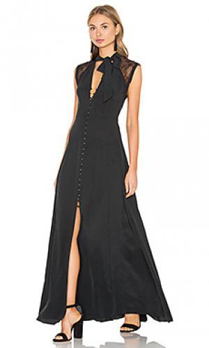 Макси платье skye Dolce Vita. Цвет: черный