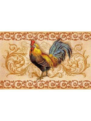 Набор плейсматов, 4шт, ПВХ Dorothy's Home. Цвет: коричневый, бежевый, золотистый