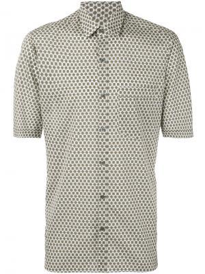 Рубашка с короткими рукавами Lanvin. Цвет: телесный