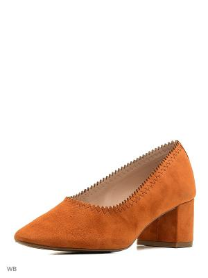 Туфли - DIANA Mango. Цвет: рыжий
